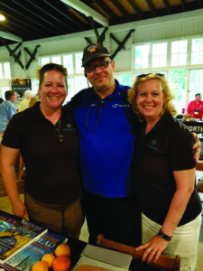 Rebecca Coiner, Skip Hill and Jennifer Hedinger for Getting Ahead While Getting Out
